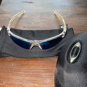 under armour sunglasses clear and blue